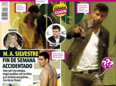 Gerard Piqué e il 'piquetón' su Cuore: durello sotto il pantalone grazie a Shakira?