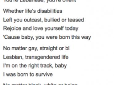 Glee TAGLIA la strofa queer di Born This Way: è censura?