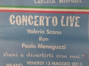 Valerio Scanu, Ron e Meneguzzi cantano per… Letizia Moratti