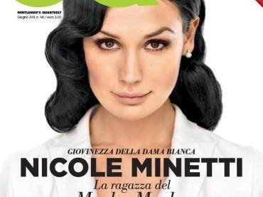Nicole Minetti in copertina su GQ