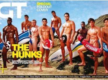 Gay Times spoglia i concorrenti dei reality inglesi