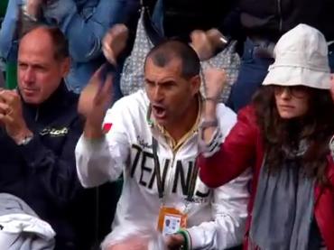 La misteriosa 'amica' di Francesca Schiavone in tribuna ANCHE al Roland Garros?