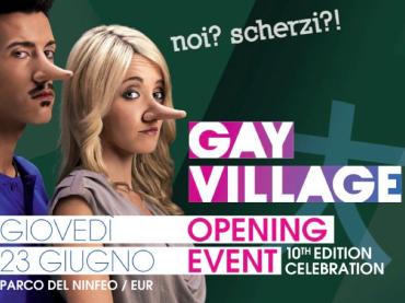 Gay Village 2011 al VIA: ecco la campagna pubblicitaria
