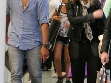 Madonna a Parigi con (l'ex) BRAHIM ZAIBAT