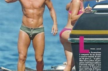 Francesco Totti si spizza l'amata Ilary…