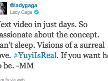 Il nuovo video di Lady Gaga arriva a GIORNI?!?