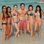 Diego Boneta Spends The Day at The Beach
