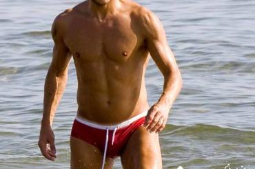 Slip rosso per Francesco Totti…
