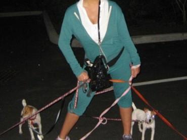 Mariah Carey su Twitter a spasso con i cani