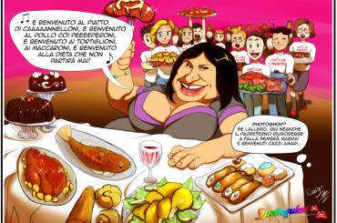 Benvenuto di Laura Pausini in un'unica vignetta SOLO su Spetteguless