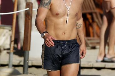 Wesley Sneijder nudo prima di Inter-Roma: ecco le sue chiappe