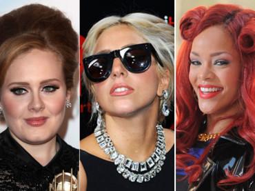 Ecco il 2011 musicale in vendite: trionfano Adele e Rihanna