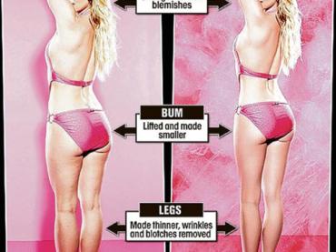 La ciccia e la cellulite di Britney per 'aiutare' gli studenti inglesi