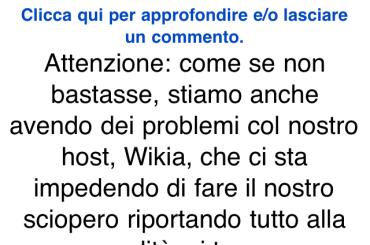 Chiude Nonciclopedia per colpa di Vasco Rossi