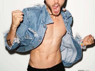 Jared Leto gnocco su Vogue Uk