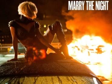 Artwork ufficiale per Marry the Night di Lady Gaga