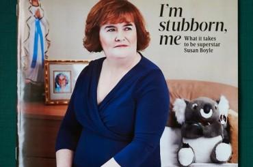 Susan Boyle e la copertina più inquietante dell'anno