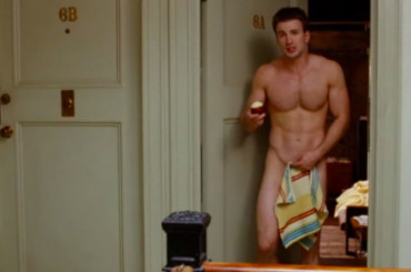 Chris Evans NUDO in What's Your Number (Sexlist)