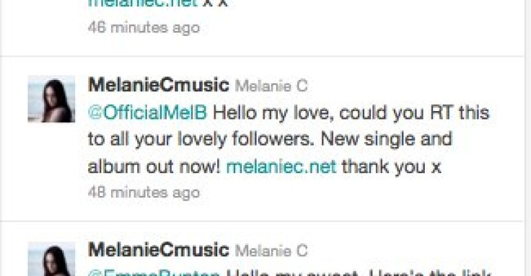 Nuovo video per Melanie C: ecco Let There Be Love