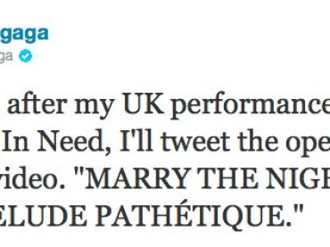 Marry The Night di Lady Gaga: il video durerà un'ETERNITA'