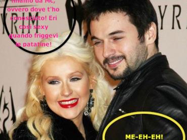 Christina Aguilera e le favolose facce da fame (con fumetto)