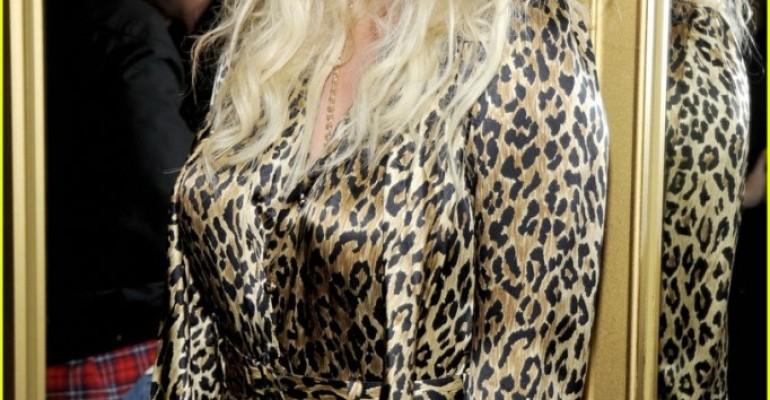 Kesha delicatissima al party 'Versace for H&M'