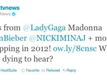 Mtv la spara grossa: nuovo album per Lady Gaga nel 2012