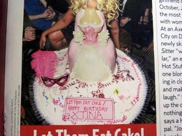 W la torta di compleanno di Christina Aguilera…