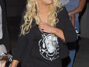 Christina Aguilera e l'amore per i LEGGINGS…