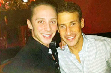 Nozze gay anche per Johnny Weir