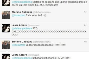 Stocazzato Stefano Gabbana (con risposta da Oscar)