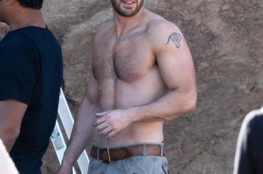 Chris Evans gnocco in un photoshoot dedicato a Captain America
