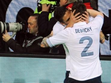 Germania-Francia 1-2: goal e bacio gay