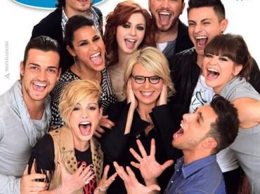 Tv Sorrisi e Canzoni, Amici di Maria e la cover che 'copia' Glee