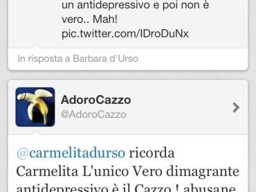 Barbara d'Urso, la cioccolata e la twittata della settimana