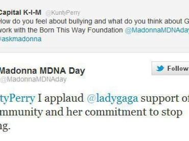 Primo spot tv per TRUTH OR DARE di Madonna (+ complimenti a Lady Gaga)