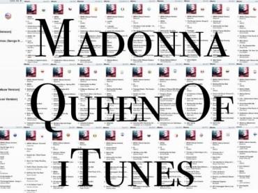 Madonna REGINA di iTunes: MDNA primo in 40 paesi