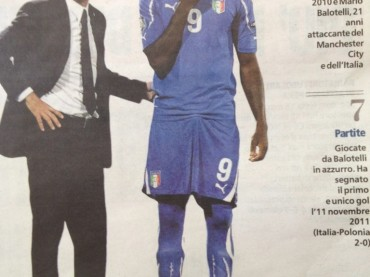 Mario Balotelli ama truccarsi da donna e indossare parrucche?!?