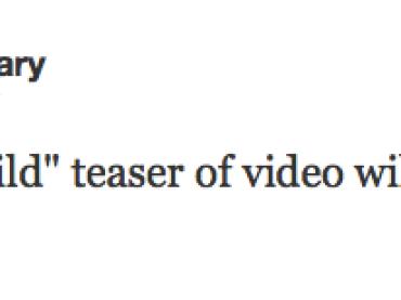 Il teaser video di Girl Gone Wild di Madonna arriva VENERDI' mattina