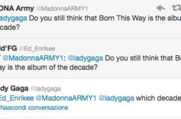 Lady Gaga, Born This Way, l'album del decennio e la twittata simpatia della settimana