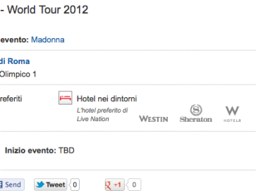 Madonna a Roma il 12 giugno: al via la vendita dei biglietti – spot tv