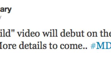 Il video di Girl Gone Wild esce il 20 marzo