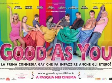 Poster e sinossi ufficiale per la gay-comedy GOOD AS YOU