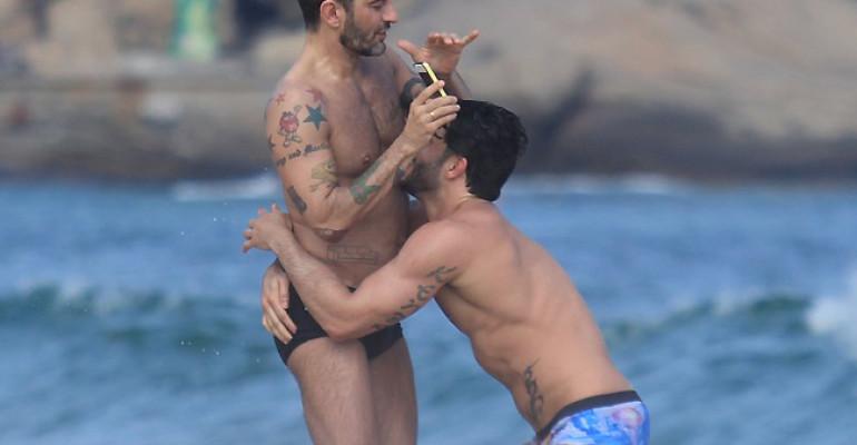 Marc Jacobs festeggia i 49 anni con l'amato Harry Louis