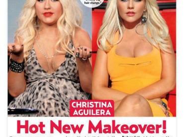 Transformer Christina Aguilera: prima e dopo la cura
