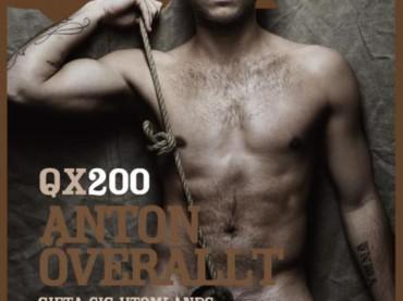 Il calciatore gay Anton Hysen nudo su QX