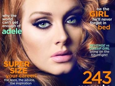 Adele truccatissima su Cleo Magazine