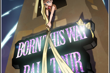 Born This Way Ball Tour al VIA: vignetta celebrativa per Lady Gaga