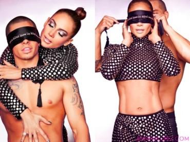 Jennifer Lopez si spupazza Casper Smart nel video Dance Again