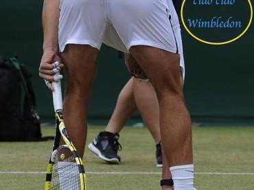 Rafael Nadal SALUTA Wimbledon (così)